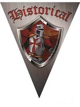 Guirlande médiévale chevalier 5m