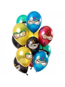 12 Ballons premium superhéros