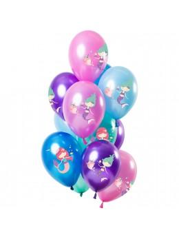 12 ballons premium sirènes