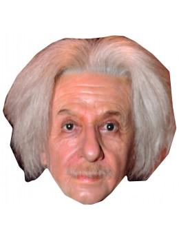 Masque carton Albert Einstein