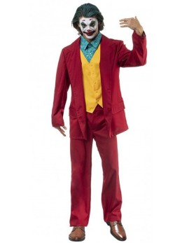 Déguisement Crazy Joker adulte