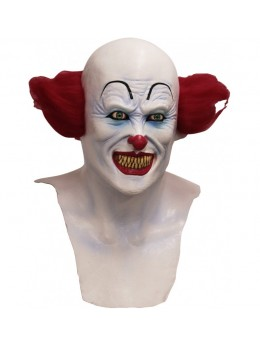 Masque latex adulte clown Halloween
