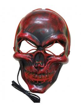 Masque de squelette lumineux