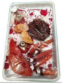 Barquette 11 organes ensanglantés