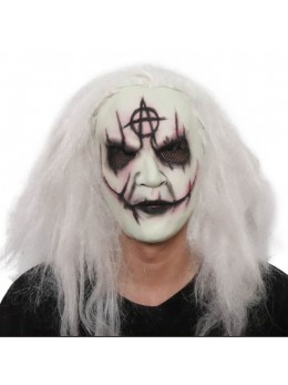 Masque horreur blanc
