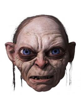 Masque latex adulte Gollum seigneur des anneaux