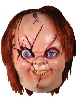 Masque latex Chucky officiel