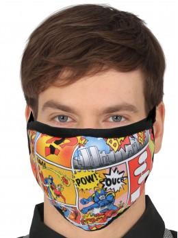 Masque tissu Comics