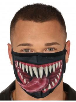 Masque tissu bouche Halloween