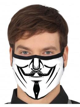 Masque tissu anonymous