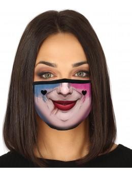 Masque tissu arlequine