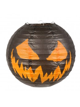 Lanterne citrouille Halloween 25cm