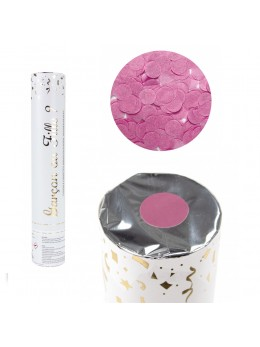 Canon à confetti gender reveal rose 30cm