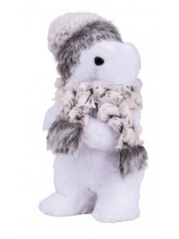 Déco ours polaire 24cm