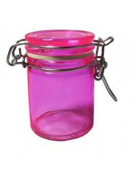 Pot à dragées confiturier rose pink