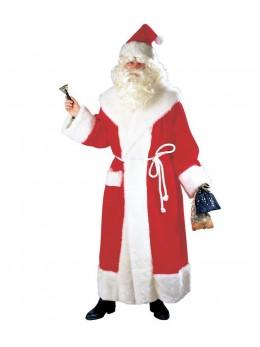 Déguisement manteau luxe Père Noël