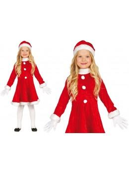 Costume Mère Noël enfant Fille