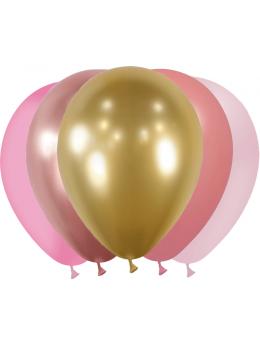 20 Ballons camaieu de rose