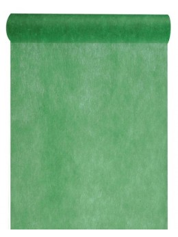 Chemin de table intissé 10m vert sapin