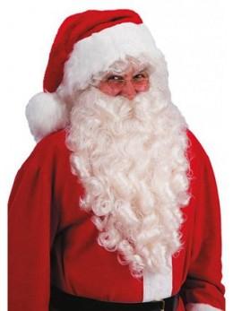 Barbe Père Noël longue 60cm