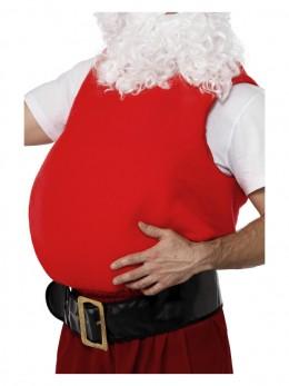 Faux ventre de Père Noël rouge