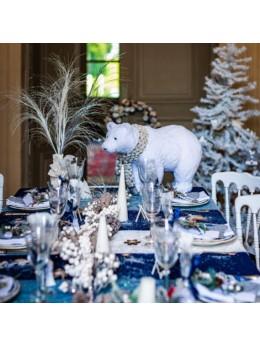 Déco ours polaire 60cm