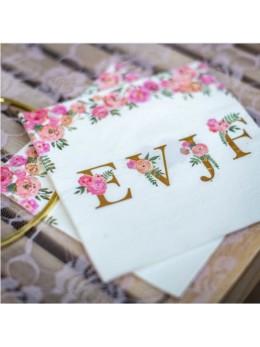 16 Serviettes papier EVJF