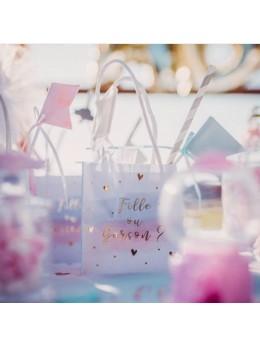 6 sacs cadeaux gender reveal fille ou garçon