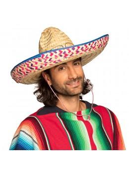 Chapeau sombrero mexicain paille