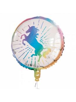 Ballon alu licorne