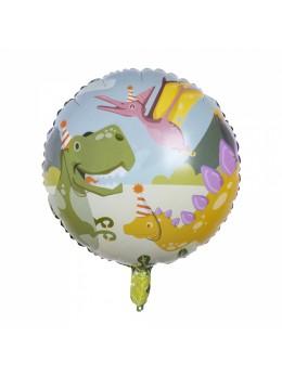 Ballon alu Dino Party