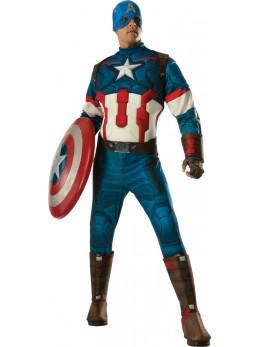 Déguisement adulte Captain America deluxe