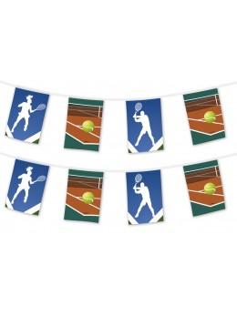 Guirlande sport match de Tennis
