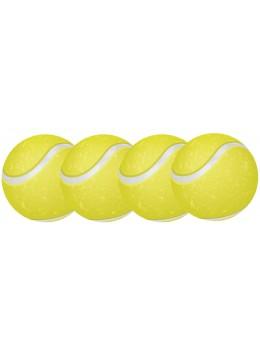 4 Décos cutout balle de tennis