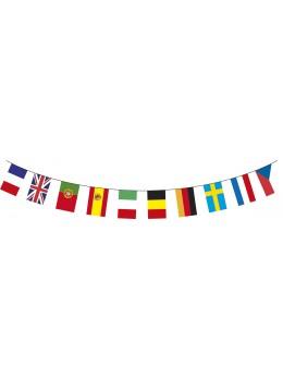 Guirlande 20 Pays du Monde 10m