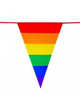 Guirlande triangle fanions arc en ciel