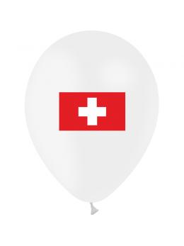10 Ballons Suisse 30cm