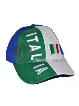 Casquette de supporter Italie