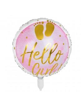 """Ballon alu """"Hello Girl"""""""