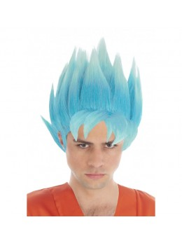 Perruque Manga Goku Saiyan officielle