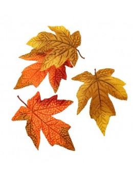 12 feuilles d'érable