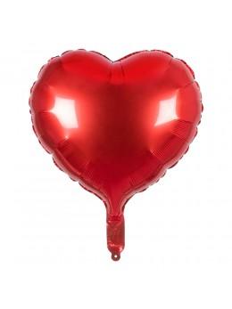 Ballon coeur rouge 45cm