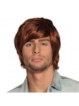 Perruque Tyler brun