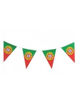 Guirlande Portugal triangle 6m