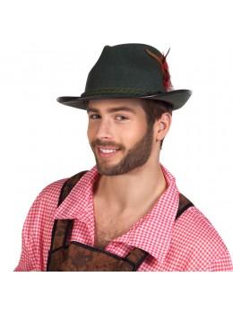 Chapeau bavarois plume