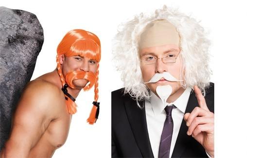 Barbes,moustaches déguisement