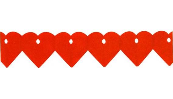 Guirlandes coeur décoration originale