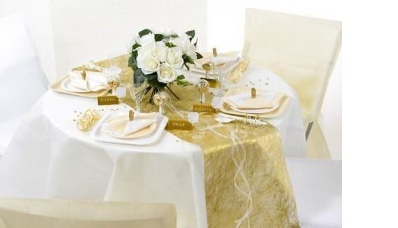 Décoration Noces Or/Argent | Anniversaire Mariage 25/ 50 ans- Fête en Folie