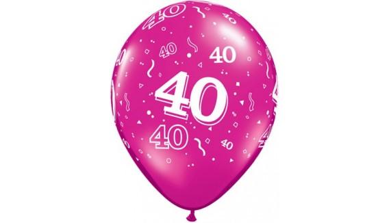 Ballons anniversaire décoration