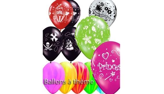 Ballons à thème décoration originale